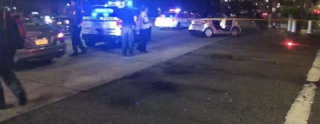 男子開共享汽車曼哈頓下城醉駕撞傷行人,傷者左腿截肢。(讀者提供)