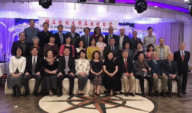 國立政治大學美東校友會11日在法拉盛舉辦71周年慶祝活動。(記者牟蘭/攝影)