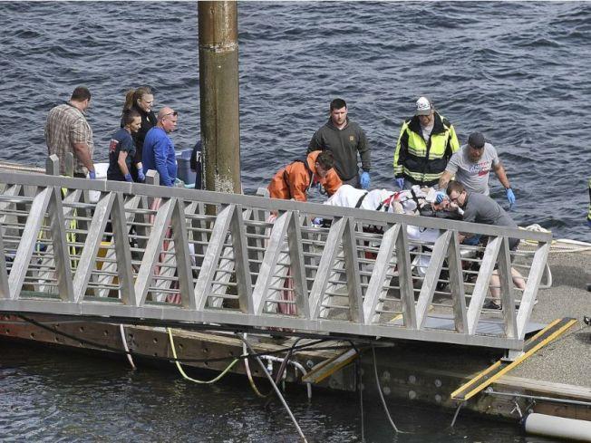 阿拉斯加驚傳水上飛機相撞事故。美聯社
