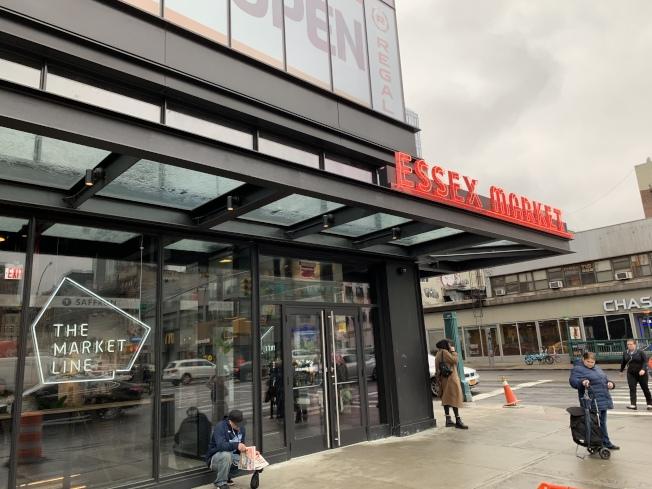 新的艾塞克斯街市場將於18日上午11時至下午4時舉辦開業慶典活動。(記者和釗宇/攝影)