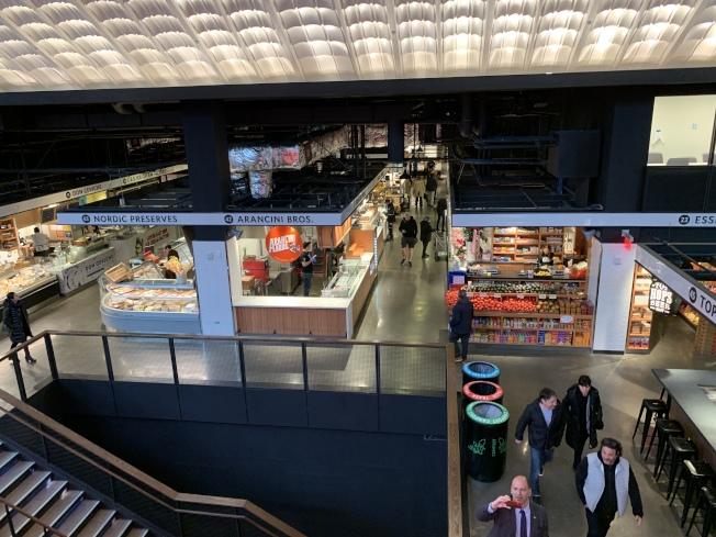 新的艾塞克斯街市場為舊址的三倍,面積達到3萬7000平方呎。(記者和釗宇/攝影)