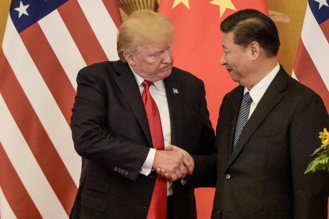 川普總統13日表示6月底在日本與中國國家主席習近平見面。(Getty Images)