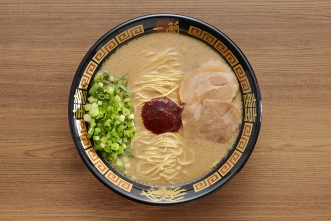 圖為一蘭拉麵的招牌拉麵,價格24元。(Ichiran/提供)