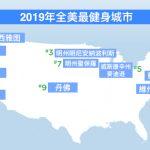 1張圖 看全美最健身城市排名 北維州阿靈頓郡奪冠
