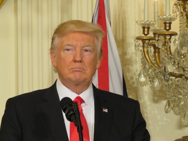 美国总统川普。 本报资料照片