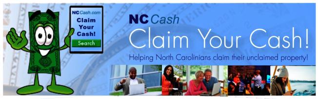 北卡州有超過7億元無人認領的資金,存放在州財務長辦公室的銀行賬戶中,等待合法所有者認領。北卡財務部門現在設立了網站NCCash.com,供民眾查詢。(取自NCCash.com網站)