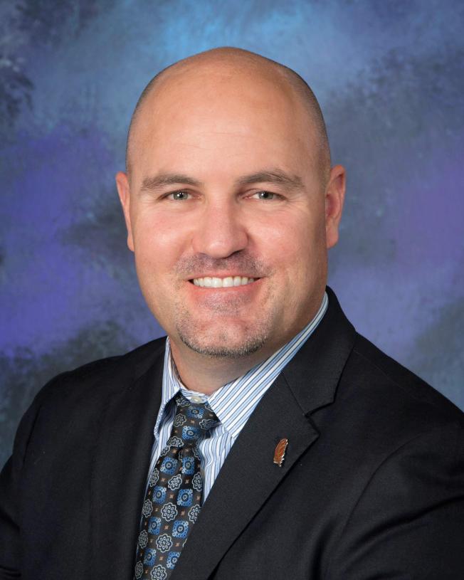 亞凱迪亞高中校長Brent Forsee將接任亞市學區助理總監。(亞凱迪亞學區提供)