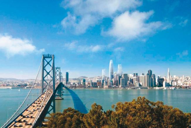 根據美新周刊評比,向來被視為黃金州和全美第1的加州,只排第19名。圖為北加州的舊金山市。(Getty Images)