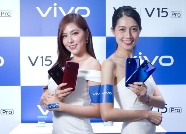 vivo V15系列有13種美顏、7種美體效果,甚至連錄影模式都支援。(圖:vivo提供)