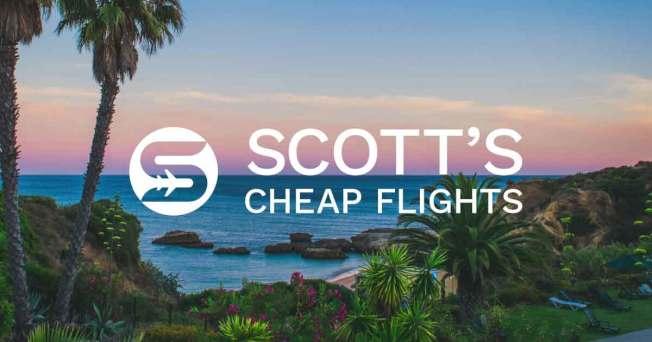 「斯科特廉價機票服務」(Scott's Cheap Flight)承諾能為每張機票平均省下550元 。(Scott's Cheap Flight 官網)