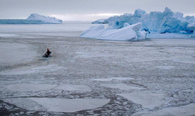 北極海氣溫在上周末達攝氏29度。(路透)