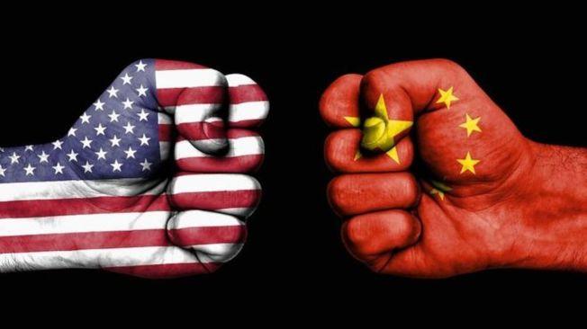 中美貿易戰硝煙四起  。(Getty Images)