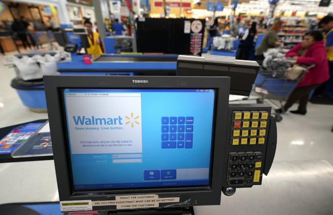 零售業搶快,沃爾瑪推出免運費的隔日到貨服務。(美聯社)