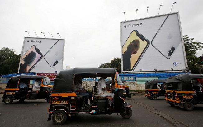蘋果計畫擴大在印度製造。路透