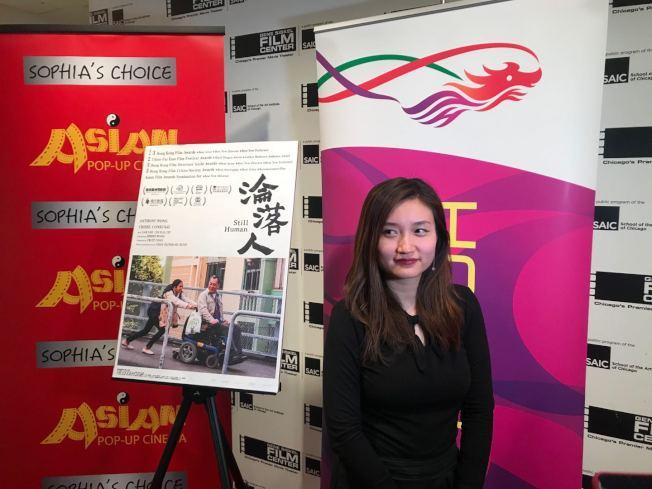 「淪落人」導演陳小娟出席「亞洲躍動影展」。(記者董宇/攝影)