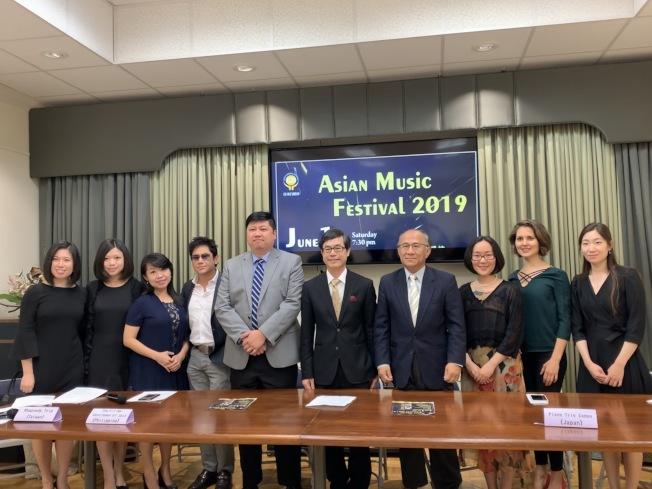 亞洲音樂節聚集四個國家音樂家演奏 。(台灣會館提供)