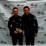 醫學博士警察Derrick劉 獲頒阿市最佳警察