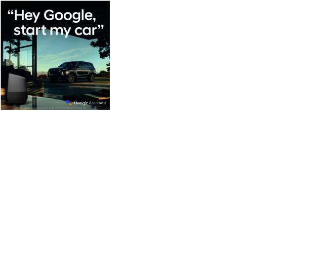 現代汽車與Google智能結合。
