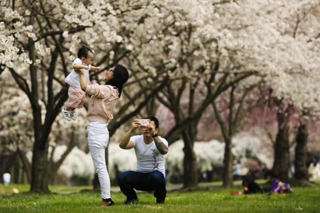 有更多年輕男性希望擁有更平等的伴侶關係,除了工作外能多加參與家庭生活。美聯社