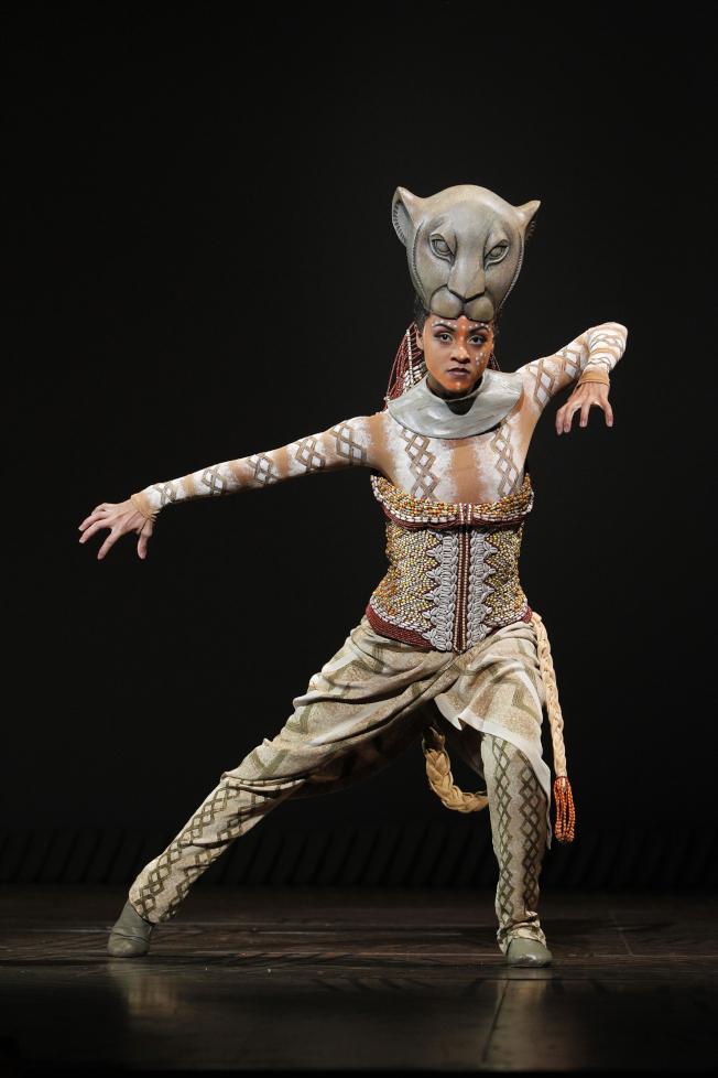 Syndee Winters在「獅子王」中扮演女主角「Nala」。(迪士尼提供)