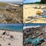 無人島一年飄進4億個垃圾、重達238噸