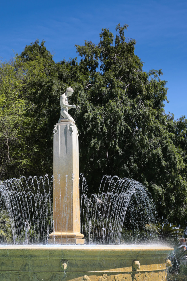 1931年建成的電動噴泉。