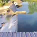 德州水壩突潰堤  湖水一衝閘門倒