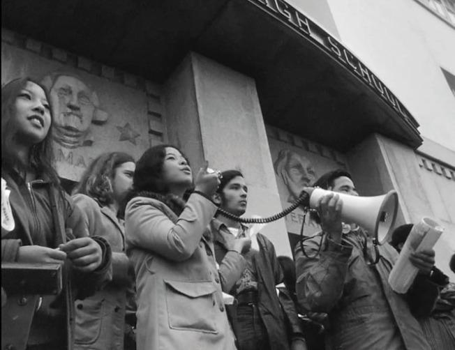 舊金山在上世紀60年代開始政治運動勃興。(電影預告截圖)