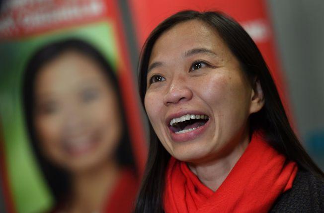 澳洲大選誕生了歷來首名華人眾議員。工黨的楊千慧在墨爾本市東郊華人聚居的齊澤姆選區當選。(Getty Images)