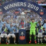 足球╱曼城拿下足總杯 達成英格蘭首次「三冠王」