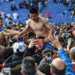 足球╱武磊1球助勝 西班牙人歡呼