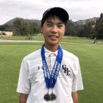 洛市高中高球賽 2華裔包辦冠亞軍