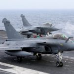 天候惡劣無法回航母 法7架飆風戰機在印尼緊急降落