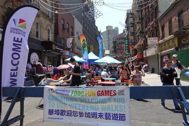 60多個組織參加活動,為民眾提供各式各樣的信息。(記者金春香╱攝影)