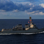 南海不平靜!美驅逐艦駛近中國聲索主權的黃岩島