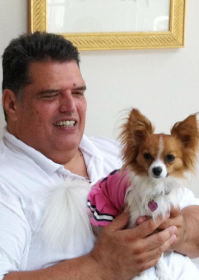 賈西亞如今在一家動物救助組織擔任志工。(賈西亞提供)