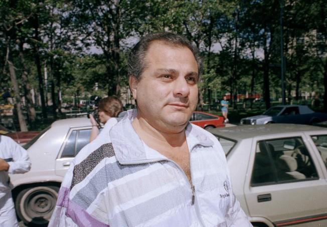 傑納‧高蒂1989年被捕時的照片。他在獄中度過近30年後獲釋。(美聯社)