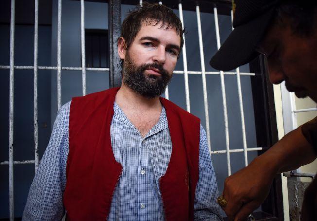涉嫌走私毒品的法國人德方20日遭印尼龍目島法院判處死刑,隨後還押牢房。Getty Images