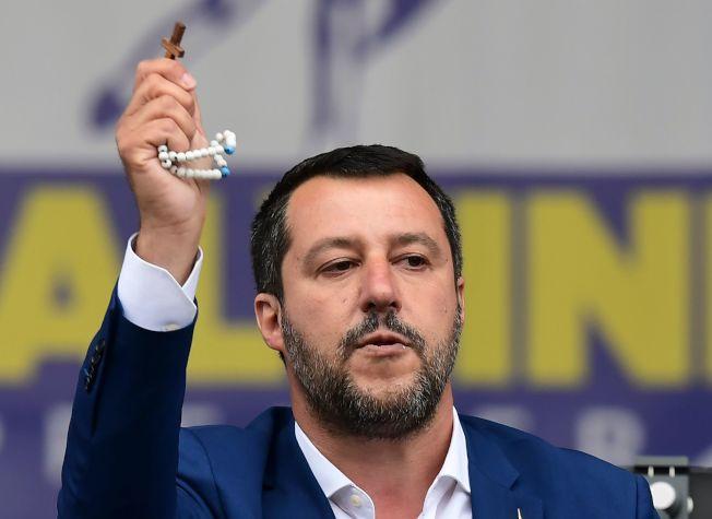 圖為義大利副總理薩爾維尼。Getty Images