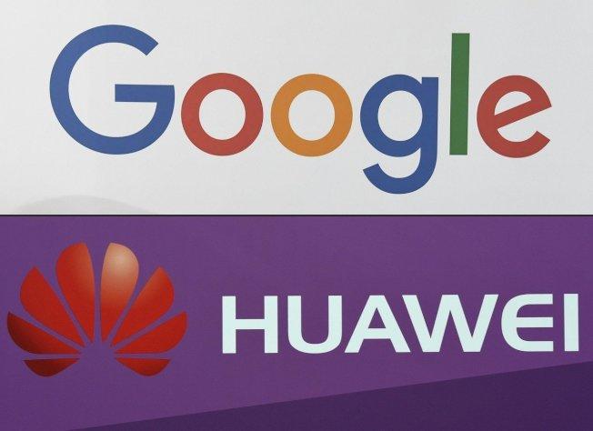 Android作業系統開發商谷歌表示,遵守美國政府對華為禁令的同時,將繼續提供現有華為手機用戶Google Play等服務。(Getty Images)