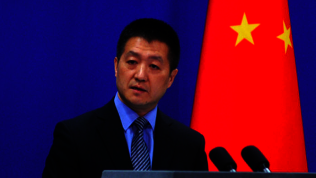 中國外交部發言人陸慷。圖/翻攝自環球網