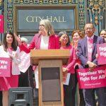 金山抵制禁墮胎州 擬取消經貿往來