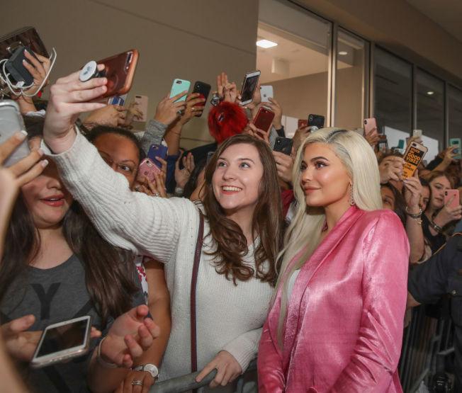 凱莉詹納擁有龐大年輕粉絲基礎。(Getty Images)