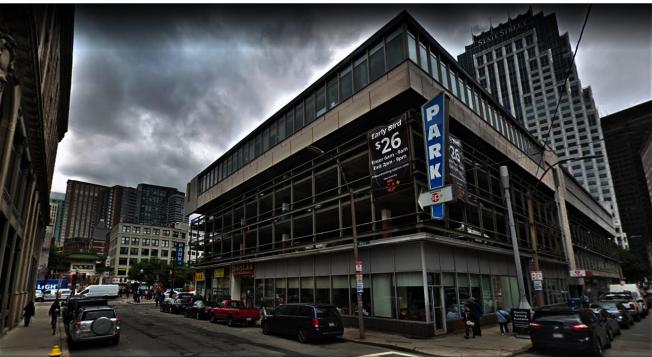 林肯街125 號業主擬將現有的五樓改建為24層辦公商業大樓。 (谷歌地圖)