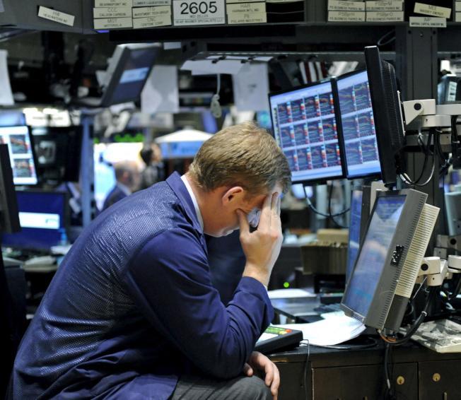 美中科技衝突加劇,拖累歐洲和美國股市22日同步走低。  歐新社