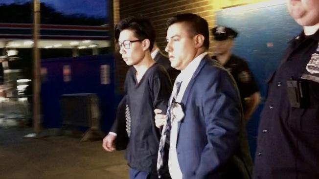 蔡健興被移交法辦。(記者顏潔恩/攝影)