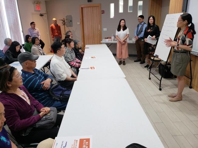 亞平會22日舉辦人口普查說明會,呼籲亞裔民眾積極參與2020人口普查。(亞平會提供)