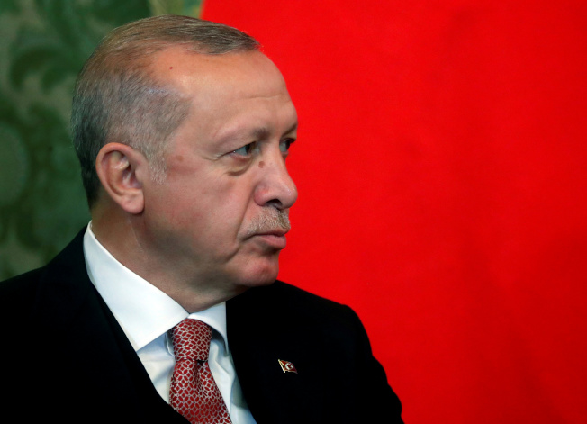 土耳其總統厄多安。(路透)