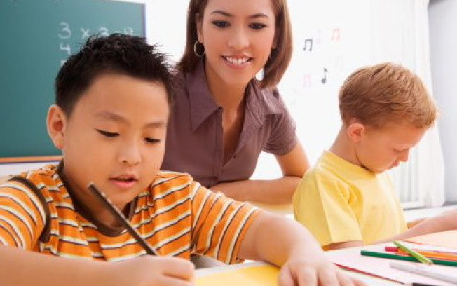 資優班考試的孩子年齡較小,因此要先成他們的注意力和耐心。(天皇教育提供)