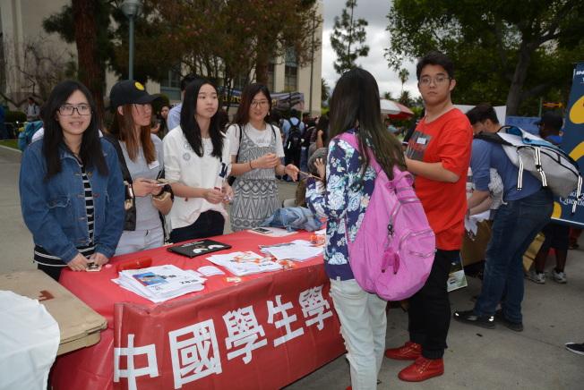 當今美國大學校園內,中國學生是國際學生的最大生源。(記者丁曙/攝影)